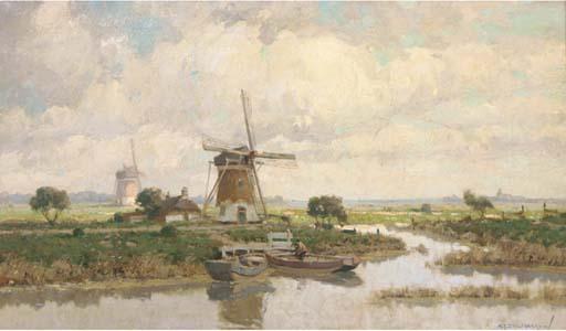 Windmolens bij Voorschote