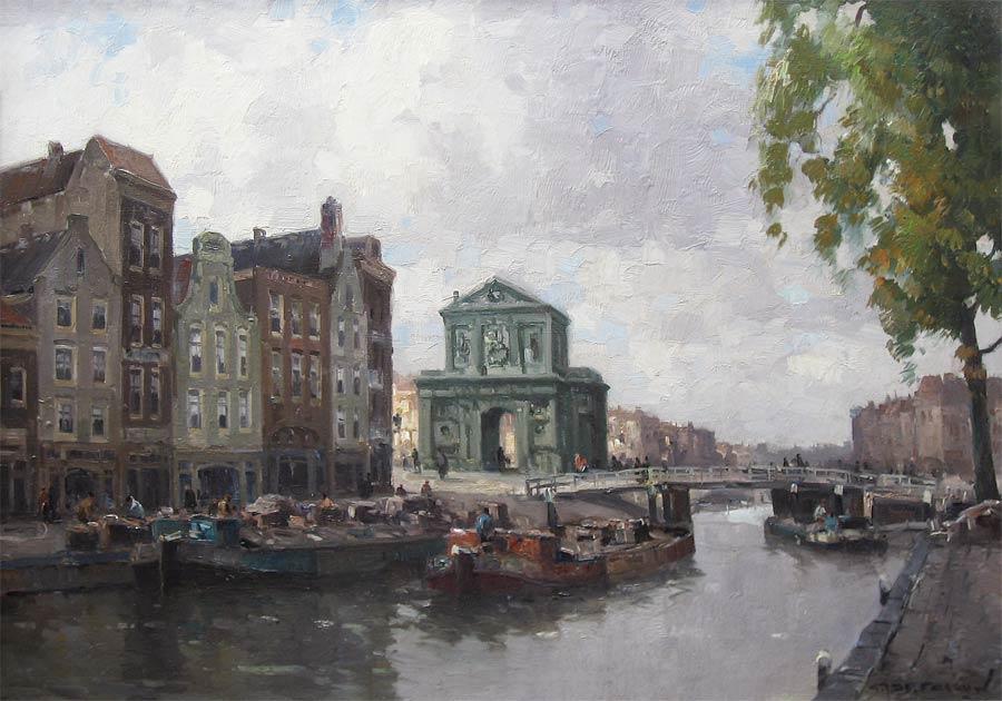 De Delftse Poort te Rotterdam