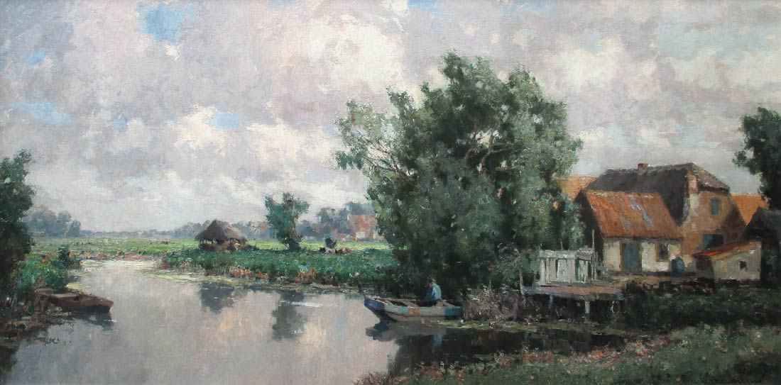 Landscape near Leidschendam