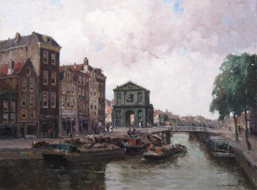 De Delftse Poort in Rotterdam