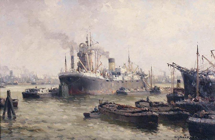 Industriehaven Rotterdam