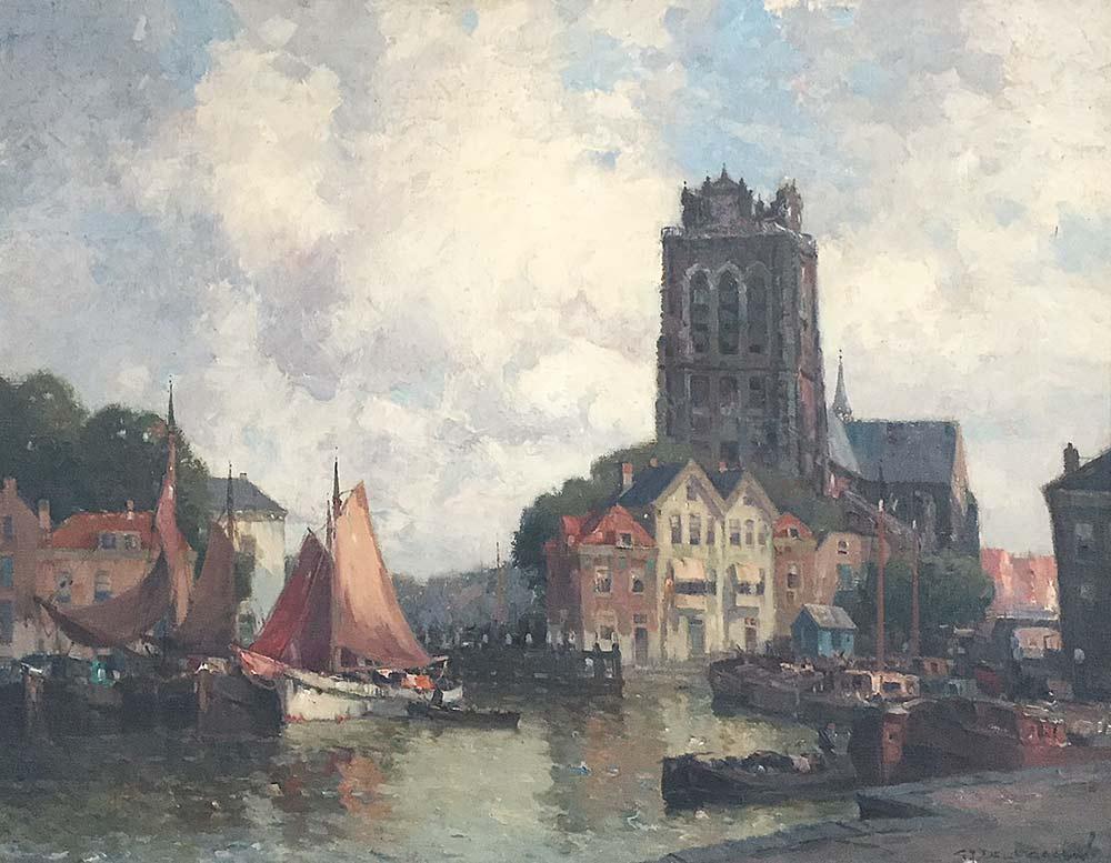 Stadsgezicht Dordrecht