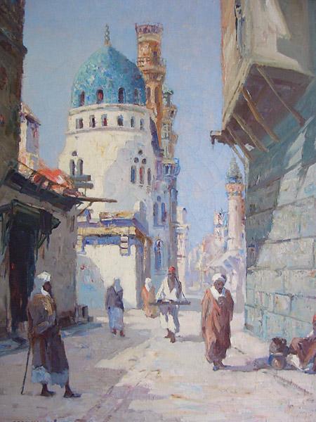 Stadsgezicht in Marokko