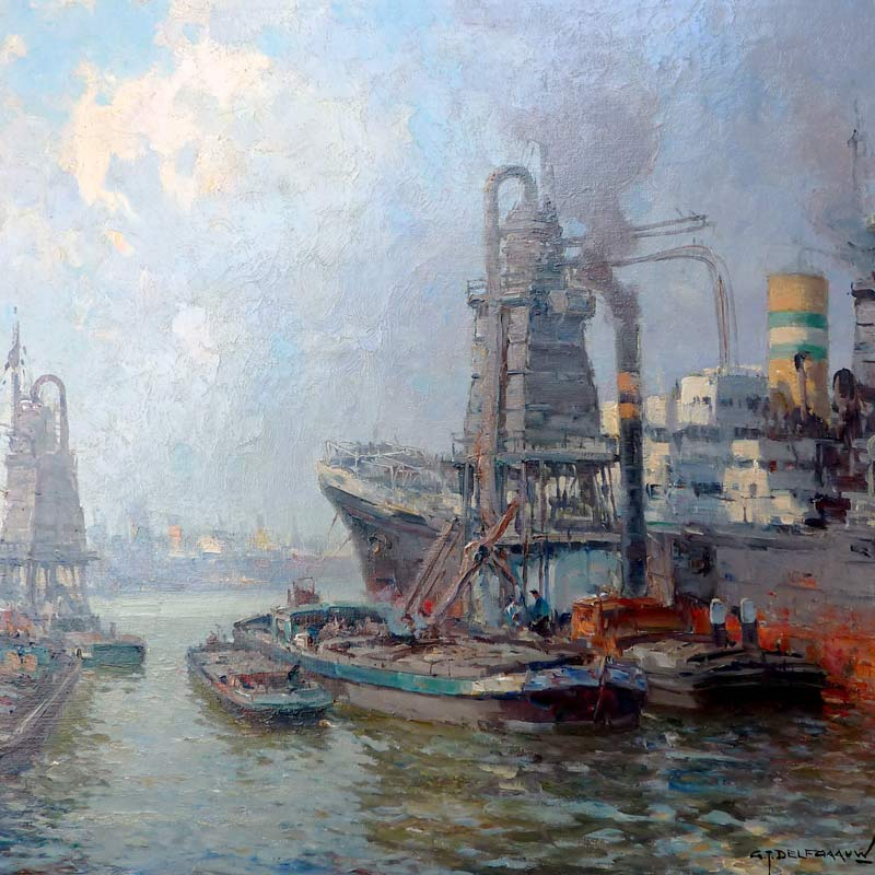 Havengezicht Rotterdam