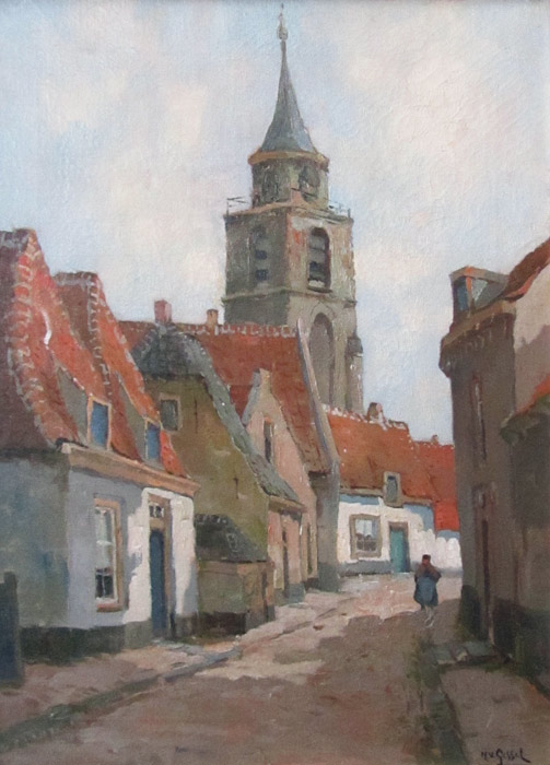 Kerkstraat in Rijnsburg