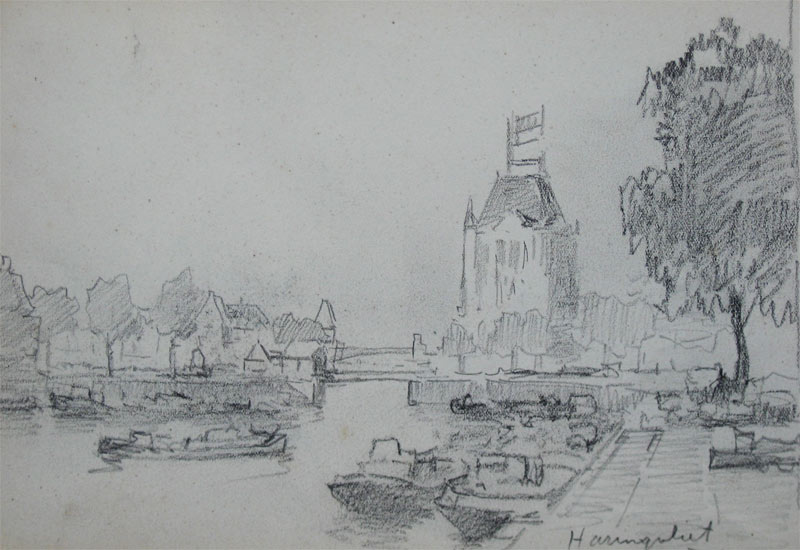Haringvliet te Rotterdam