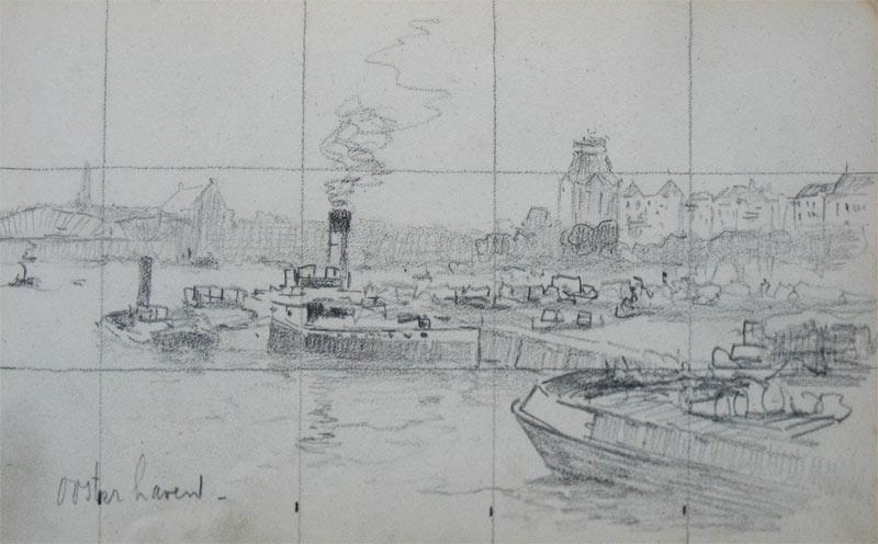 De Oosterhaven te Rotterdam
