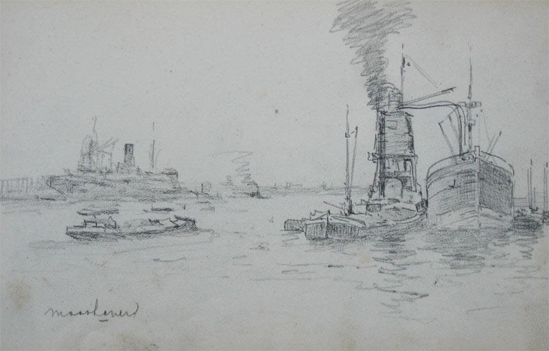 De Maashaven te Rotterdam