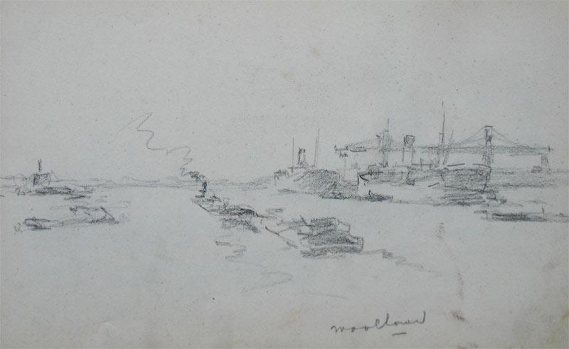 De Waalhaven te Rotterdam